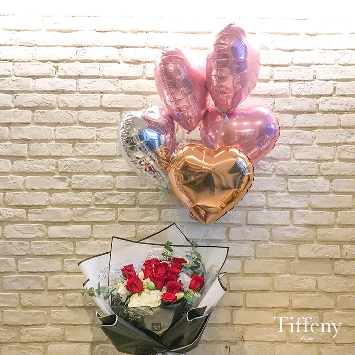 愛心氣球(一顆) 3