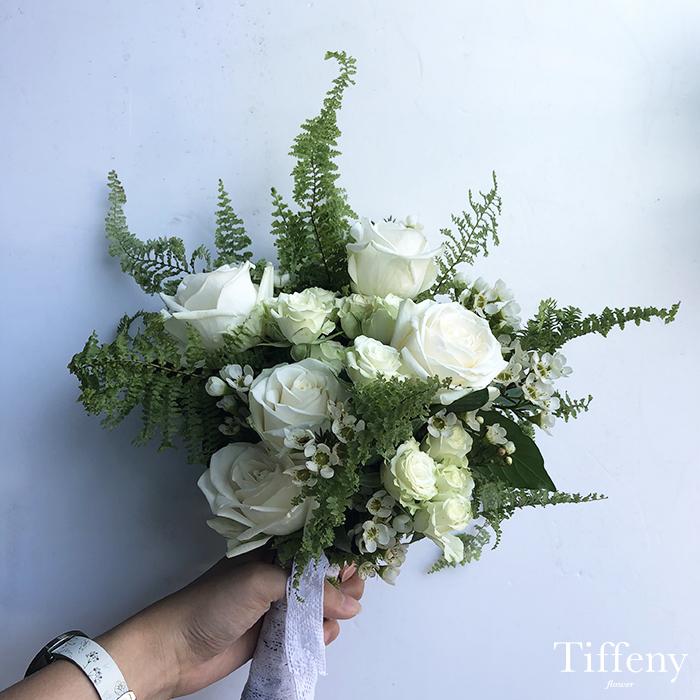 綠白清新捧花(多款) 3