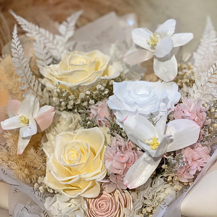 Bloom・鬱金香永生玫瑰花束 2